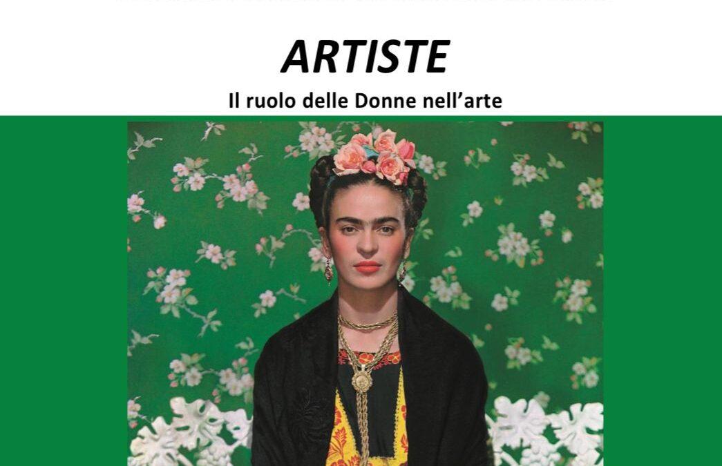 19 Giugno – Artiste   Il ruolo delle donne nell'arte