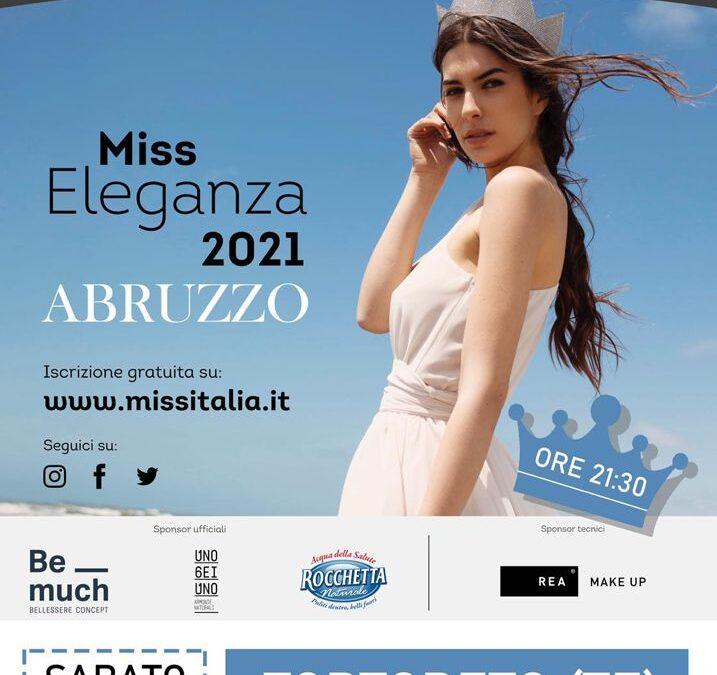 31 luglio – Miss Eleganza 2021 – Abruzzo