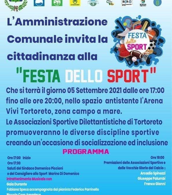 5 settembre – Festa dello sport